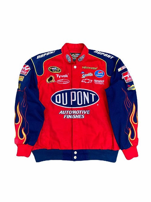 Vintage 2003 Jeff Gordon DuPont #24 Chase Authentics Nascar Racing Jacket - L