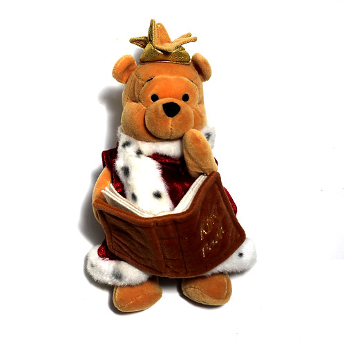 "Disney 'Jubilee Pooh' 8"" Bean Bag Soft Toy"