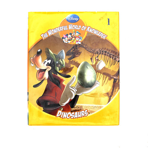 Disney WWON 'Dinosaurs' Book