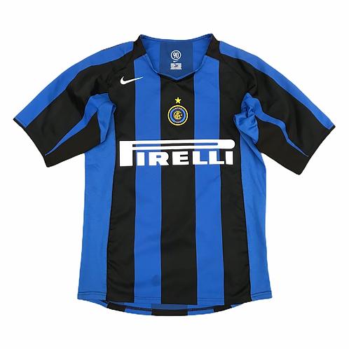 Vintage Inter Milan Nike 2004/05 S/S Home Shirt - S