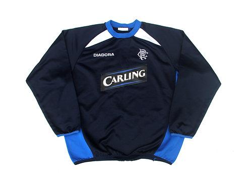 Rangers Diadora Training Sweatshirt 2003/05 - M
