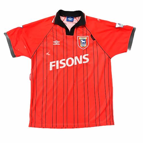 Ipswich Town FC Umbro 1993/95 Away Shirt - XL