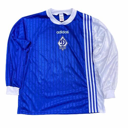 Vintage Dynamo Moscow Adidas 1996/97 L/S Away Shirt - XL