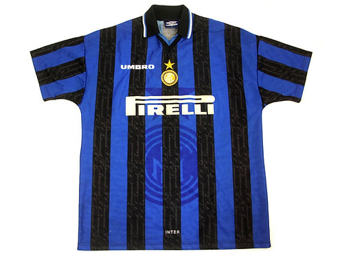 Inter Milan Umbro Home Shirt 1997/98 - XL