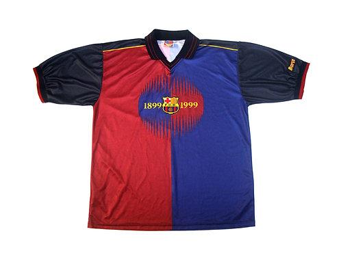 Barcelona Fan T-Shirt 'Centenary Year Figo 7' 1999/00 - XXL