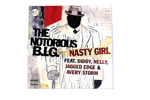 """The Notorious B.I.G - Nasty Girl 12"""" Vinyl"""