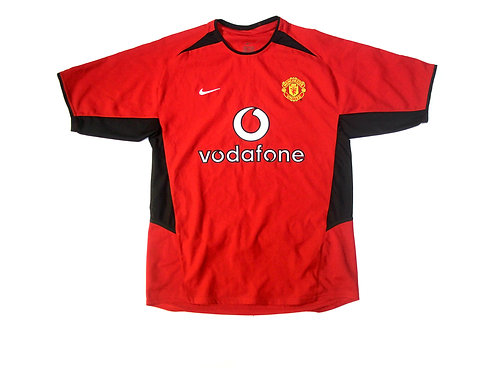 Manchester United Nike Home Shirt 2002/04 - S