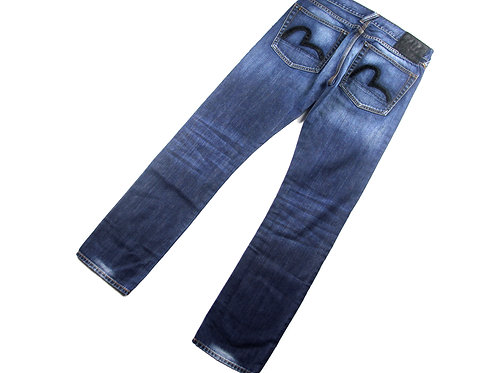 "Evisu Straight Leg Jeans - 30"" x 30"""