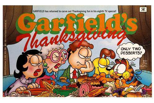 'Garfield Thanksgiving' by Jim Davis 1989