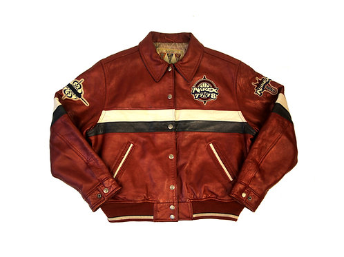 Avirex 'Alpine Sports' Leather Jacket - S/M