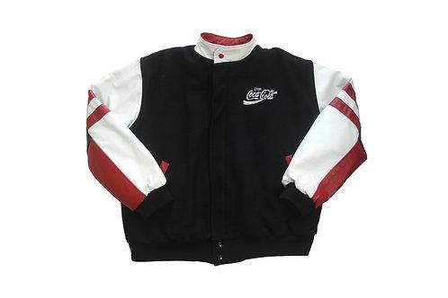 Coca Cola Leather Jacket - L