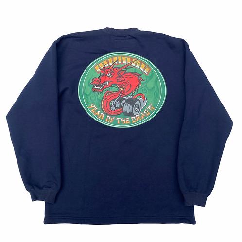 Deadstock Mambo 'Year Of The Drag'n' Graphic Print Sweatshirt - M
