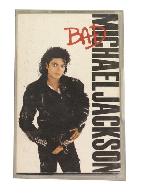 Michael Jackson 'Bad' Cassette Album 1987
