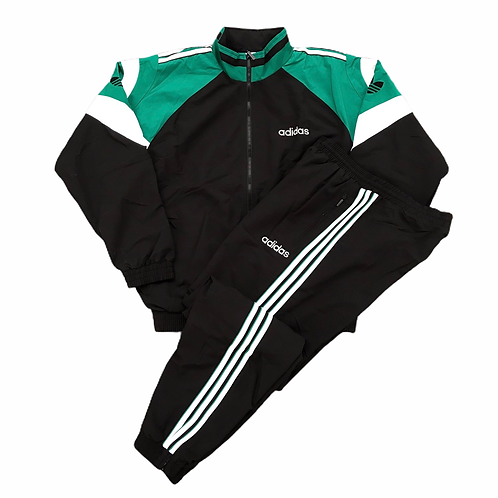 Vintage Deadstock Adidas 1990s 'Sitor' Tracksuit - L