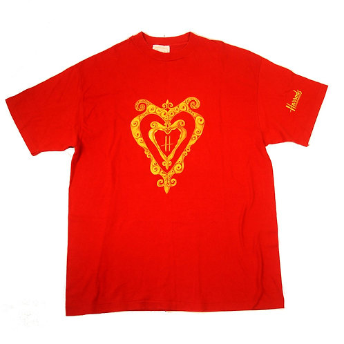 Harrods 'Antique Heart' T-Shirt - L