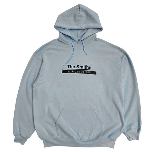 Early 2000s The Smiths 'Hatful Of Hollow' Baby Blue Hoodie - XXL