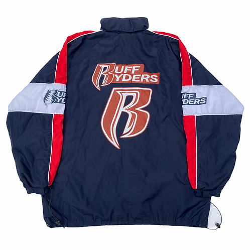 Vintage Early 2000s Ruff Ryders Track Jacket - XL
