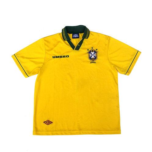 Brazil Umbro Home Shirt 1993/94 - L