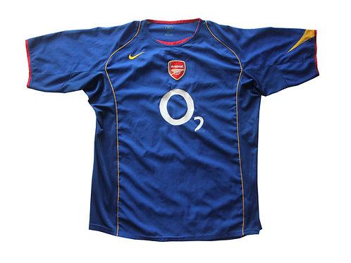 Arsenal Nike Away Shirt 2004/06 - XL & L
