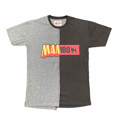 Mambo 'Two Tone Spellout' T-Shirt - M