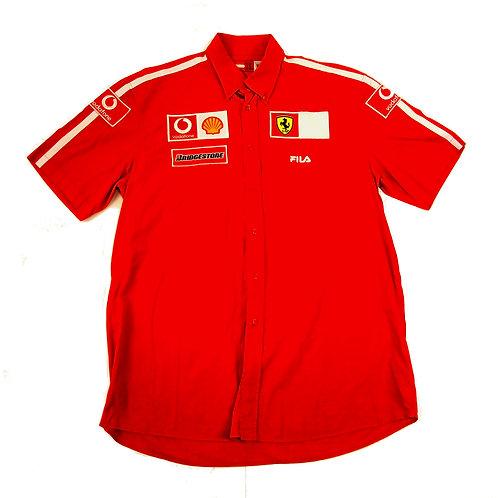 Fila x Ferrari S/S Shirt - XXL