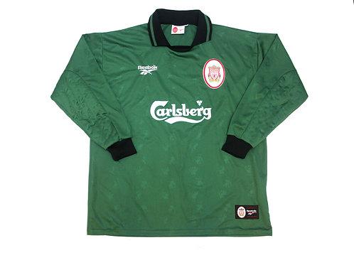 Liverpool Reebok Goalkeeper Shirt 1996/97 - XL