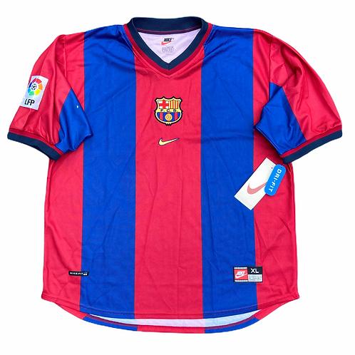 Deadstock FC Barcelona Nike 1998/00 Home Shirt - L