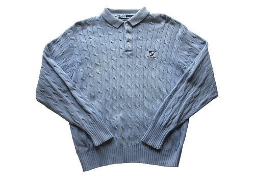 Ralph Lauren Knitted Sweatshirt - XL