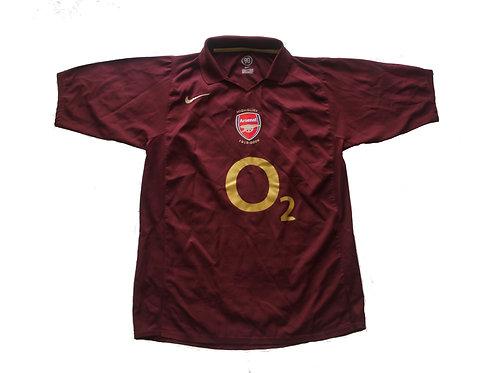 Arsenal Nike Home Shirt 2005/2006 - M