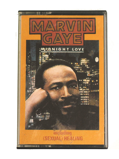 Marvin Gaye 'Midnight Love' Cassette Album 1982
