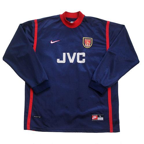 Arsenal Nike Goal Keeper Shirt 1998/99 - L