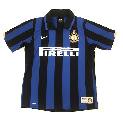 Inter Milan Nike Centenary Home Shirt 2007/08 - M