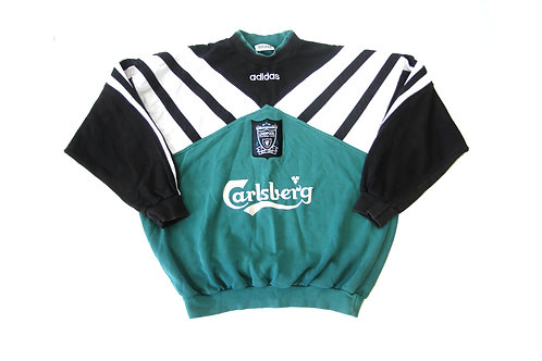 Liverpool Adidas Training Sweatshirt 1995/96 - L/M