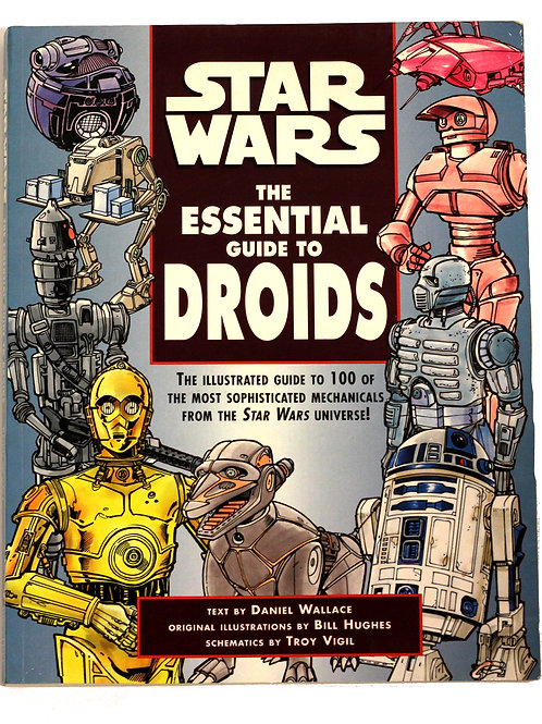Star Wars 'The Essential Guide to Droids' 1999