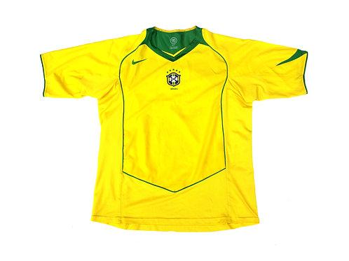 Brazil Nike Home Shirt 2004/06 - L