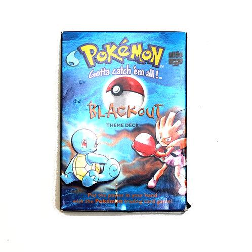 Empty Pokemon 'Blackout Theme Deck'