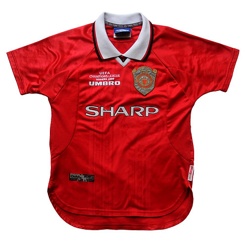 Manchester United Umbro Home Shirt 1999/00 - Kids