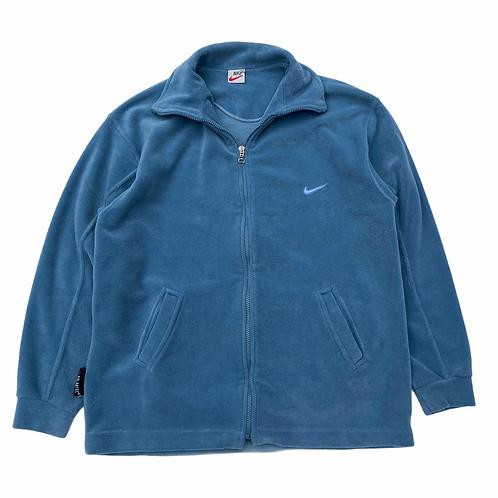 90s Bootleg Nike 'Polartec' Full Zip Fleece - L