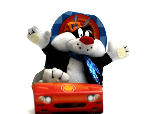 Shell Looeny Tunes Sylvester Soft Toy 1999