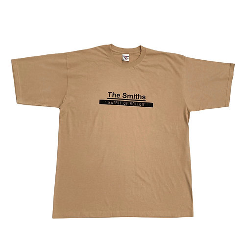 Early 2000s The Smiths 'Hatful of Hollow' Beige T-Shirt - XL