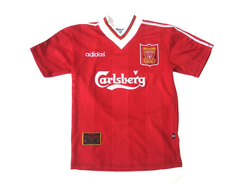 Liverpool Adidas Home Shirt 1995/96 - S