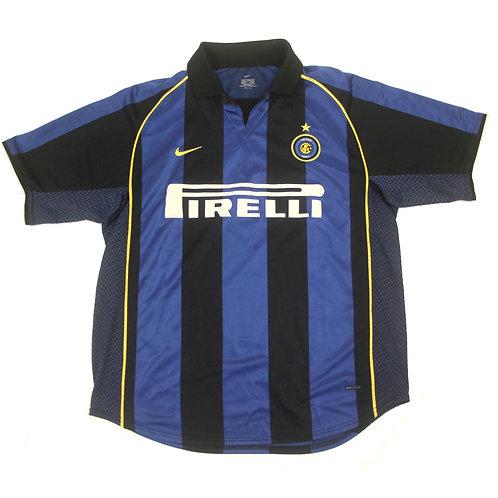 Inter Milan Nike Home Shirt 2001/02 - L