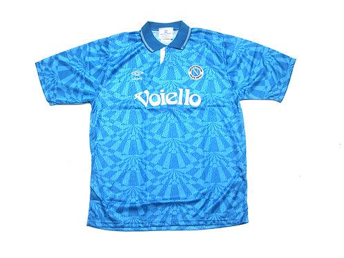 Napoli Umbro Home Shirt 1991/93 - L
