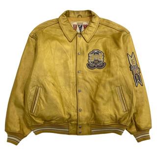 Avirex '2001' Leather Jacket - Fits XXL