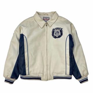 Avirex 'New York City' Imitation Leather Jacket - Fits XS