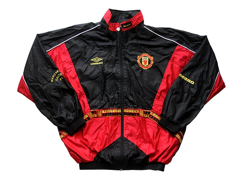 Manchester United Umbro Training Track Top 1996/97 - L