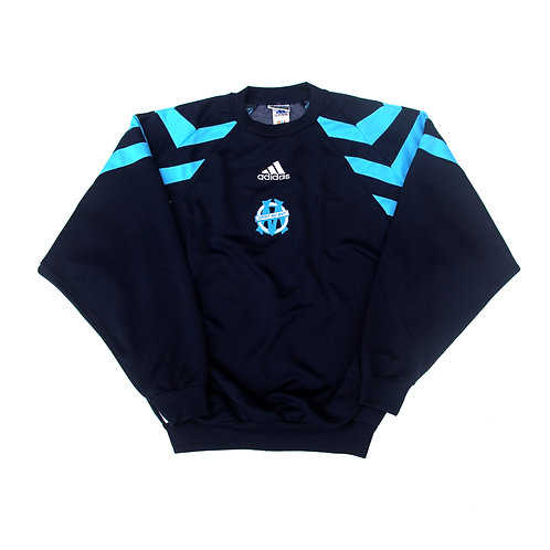 Olympique Marseille Adidas Training Sweatshirt 1999/00 - S