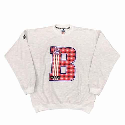 FC Bayern Munich Adidas late 90s Training sweatshirt -M