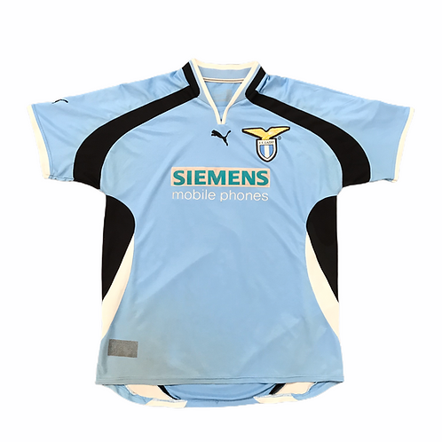 Lazio Puma 2000/01 Home Shirt - M