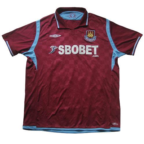 West Ham Umbro Home Shirt 2009/10 - XL